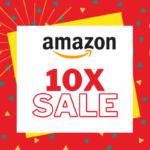 10x sales in amazon