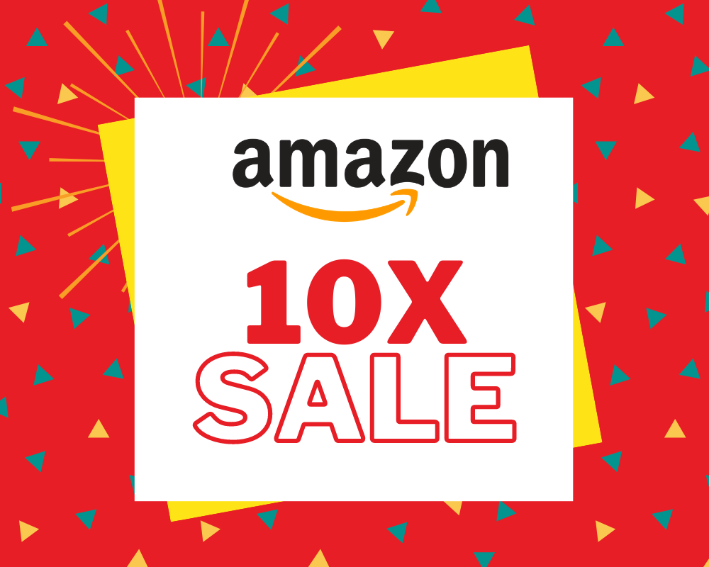 10x sales in amazon